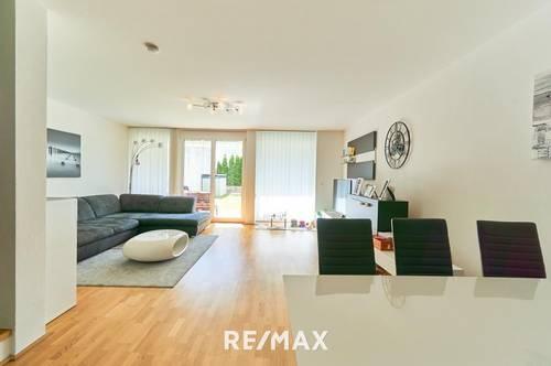 Amras: Neuwertige 4-Zimmer-Maisonettewohnung mit Garten - Fast wie ein Haus