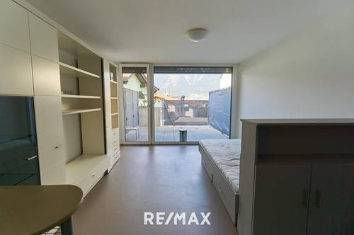 Neubau: Garconniere mit großer Terrasse, auf Wunsch mit Tiefgaragenabstellplatz