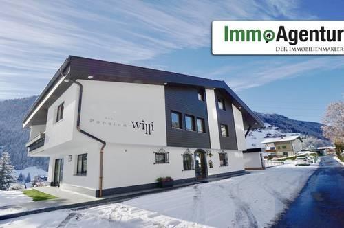 Traumhaft gelegene Pension in Gaschurn, 3 Wohnungen zzgl. 5 Zimmer und Garage inkl. Werkstatt