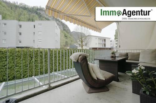 Ruhig gelegene 4-Zimmerwohnung mit Balkon in Hohenems