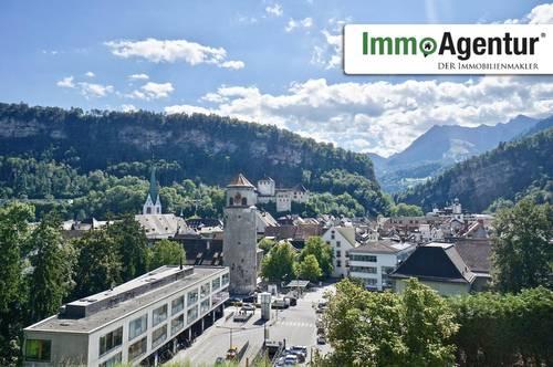 Exklusive 3-Zimmerwohnung mit Balkon und Traumaussicht in Feldkirch, Ardetzenberg Top 5