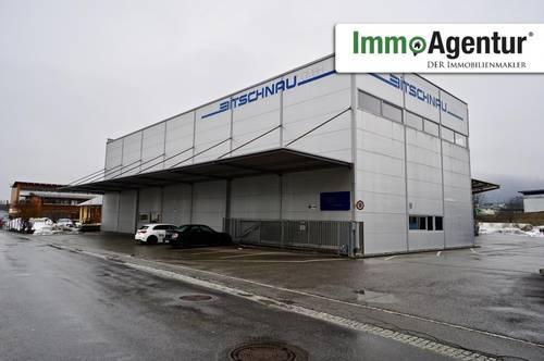 Vielseitig nutzbare Produktions- und Lagerhallen in Bludenz zur Miete