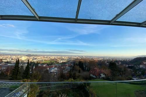 Luxuriöses Einfamilienhaus mit Blick über Graz