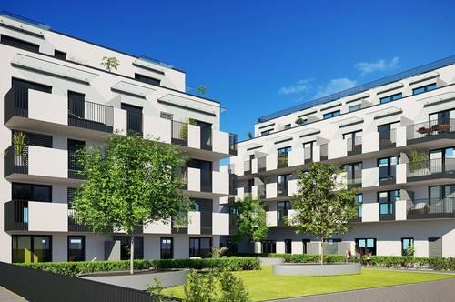 Provisionsfrei Anlegerwohnung mit Terrasse in den Innenhof