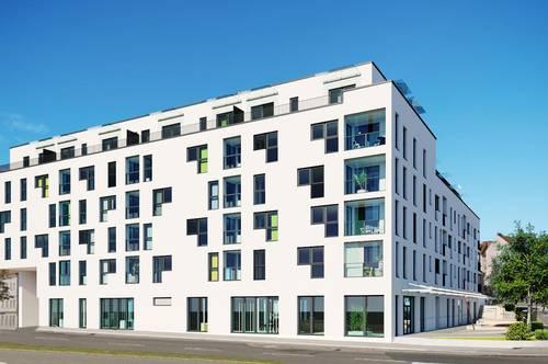 Kompakte 2 Zimmer Anlegerwohnung mit großem Südbalkon - provisionsfrei