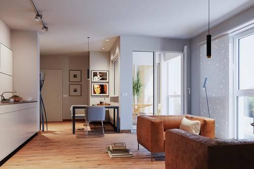 Interessantes Anlageobjekt- 2 Zimmerwohnung mit Dachterrasse - provisionsfrei