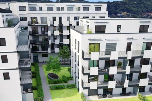 3 Zimmer Gartenwohnung mit großer Terrasse in den Innenhof - provisionsfrei