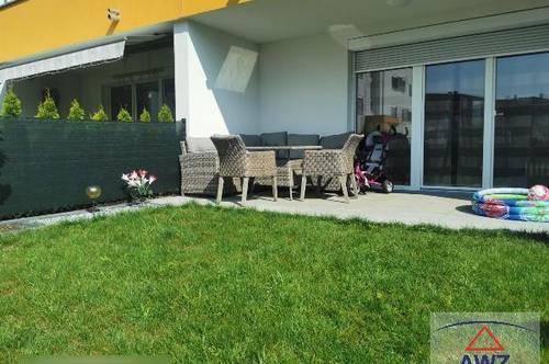 Neuwertige Wohnung mit Garten in Wels!