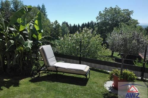 Neuwertige Eigentumswohnung mit Garten!