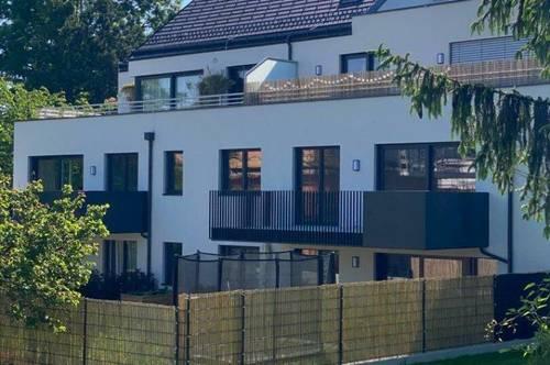 Neubau Erstbezug ! Moderner exklusiver Terrassentraum mit Garagenplatz im Zentrum von Bisamberg !