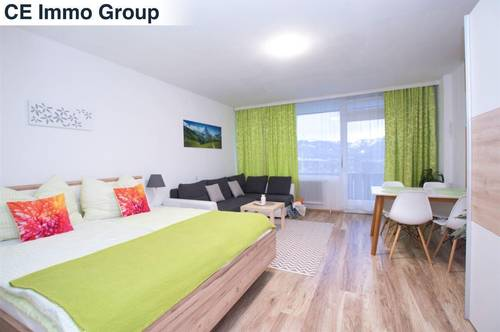 Einzimmerapartment mit offizieller Zweitwohnsitz bzw. Ferienwohnung Vermietungsmöglichkeit