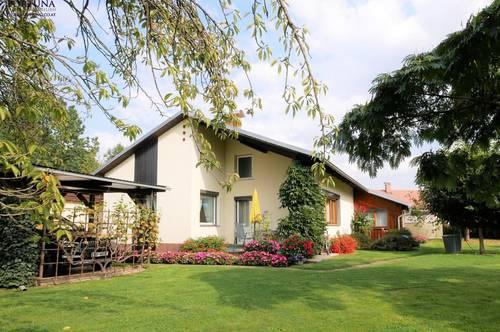 Liebevoll gepflegter Bungalow + Familienparadies mit Charme und Stil + wunderschöne Lage in Seiersberg!