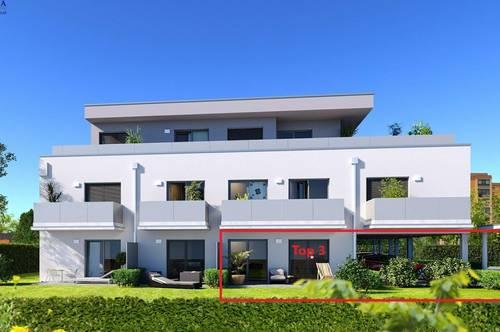 Perfekte Gartenwohnung in Wetzelsdorf | 45m² NEUBAU | beziehbar ab Juni 2021!
