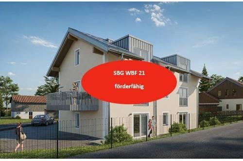 Wohnen im Salzburger Seengebiet - 3-Zimmer-Wohnung mit Garten