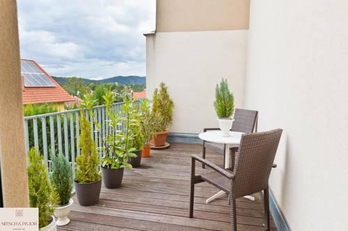 Natur trifft Architektur - exklusives und modernes Wohnen in Passivbauweise - Giesshübl