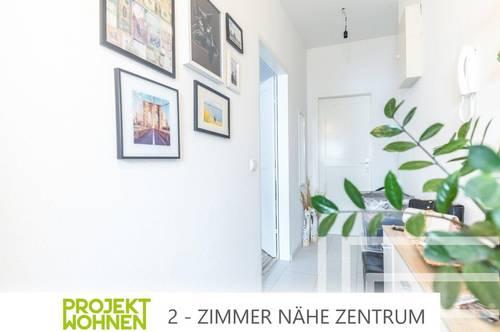 Zwei-Zimmer-Wohnung im Zentrum von Klagenfurt / Helle Räumlichkeiten - große Fenster / Ab November verfügbar !