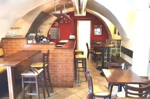 Kleine Bar im Zentrum von Klagenfurt