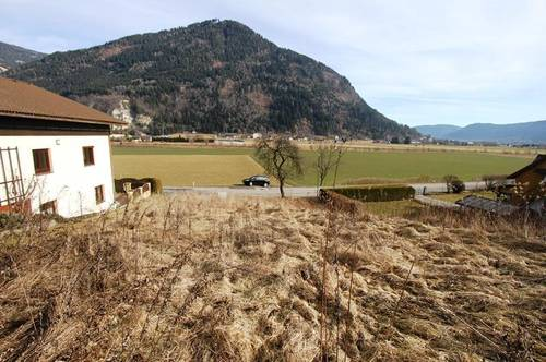 Gemeinde Treffen - Gerlitzennähe - Sonniges Grundstück in Hanglage