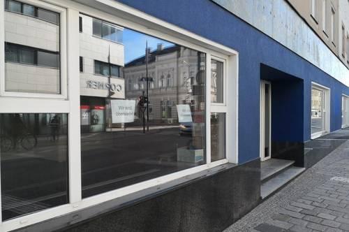 PARTERREGESCHÄFTSLOKAL ZENTRUM WELS - Büro-oder Geschäftsfläche nahe Wochenmarkt Top 2+3!