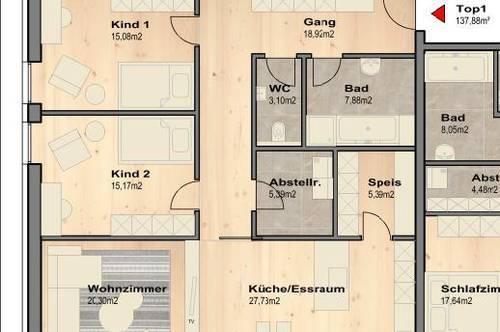 Familientraum, Neubau - Wohnung im Südburgenland
