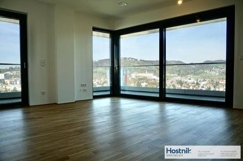 !ERSTBEZUG! 3 Zimmerwohnung mit 25,38 m2 Balkon!