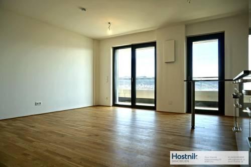 Wohnen im Bruckner Tower   1 Zimmerwohnung mit Balkon!