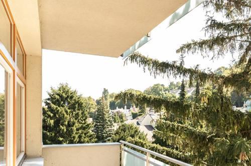 Ruhig gelegene 3 Zimmer Wohnung mit Balkon und Autostellplatz