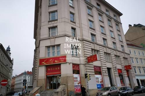 SOUTERRAINLOKAL in 1040 Wien, für Büro-Geschäft-Lager verwendbar, zu mieten, vis a vis vom Naschmarkt!