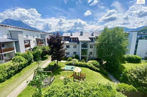 Dachgeschoss-Wohnung mit Traunsteinblick und Tiefgaragenplatz