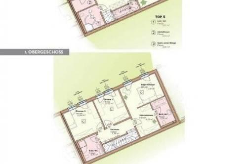 Luxuriös ausgestattete Maisonette-Wohnung ( ca. 126,4 m²) mit 1 Terrasse