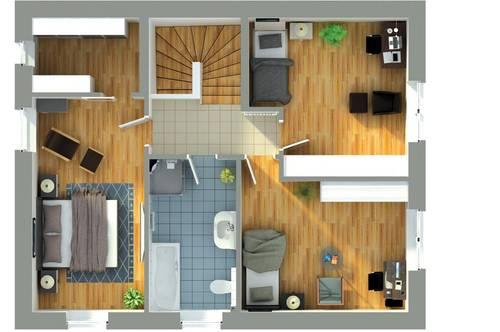 Eigentum statt Miete moderne Doppelhaushälfte mit Garten