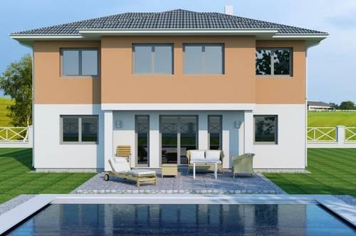 Schöne ebene Baugrundstücke mit Einfamilienhaus