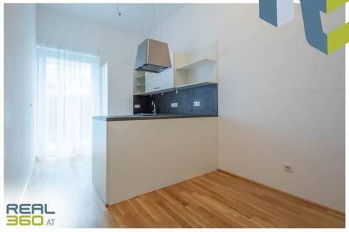 Optimale Gartenwohnung mit separater Küche und tollem Grundriss in Linz-Urfahr zu vermieten!!