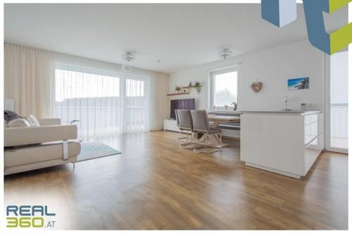 Großzügige 4-Zimmer Wohnung mit großer Terrasse und ALPENBLICK, nur 15 Min. von Linz!!!