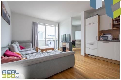2-Zimmer-Wohnung mit Loggia und möblierter Küche in Linz-Zentrum!
