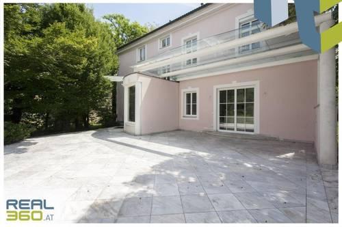 Villa in toller Lage in Traun mit riesigem Garten & Pool!