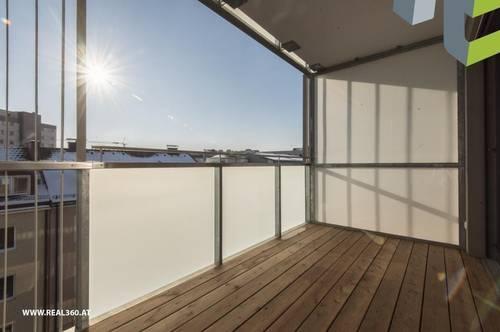 RIESEN LOGGIA - Tolle 3-Zimmer Wohnung in Urfahr