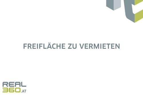 Asphaltierte Freifläche mit ca. 1.300m² und elektrischem Tor in Linz anzumieten!