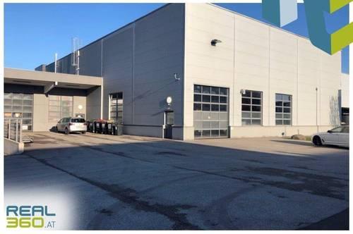 Tolle Lagerhalle mit asphaltierter Freifläche und Technikräume zu vermieten!