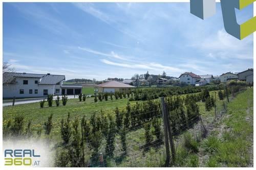 Altenberg bei Linz - Sonnig gelegener Baugrund im Ortszentrum!