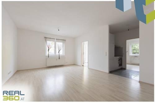 Toll geschnittene Wohnung mit Gartenanteil!