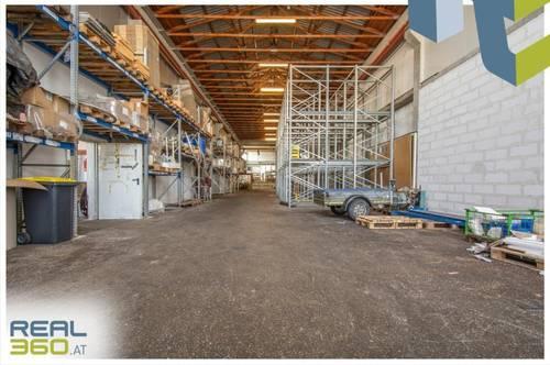 Günstige Lagerhalle im WELSER-INDUSTRIEGEBIET mit Widmung Industriegebiet zu vermieten!!