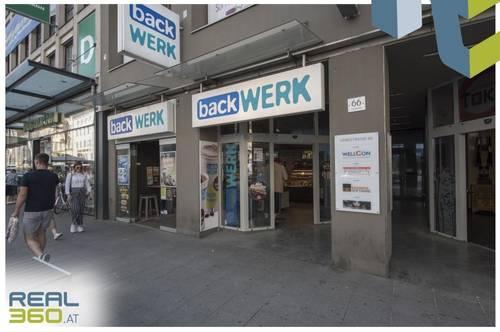 Geschäftsfläche auf der Linzer Landstraße zu vermieten!
