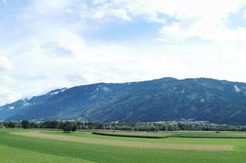 Chance ergreifen. Wohnen in Lendorf. Familienfreundlich, modern und zentral. Blick auf die Berge.