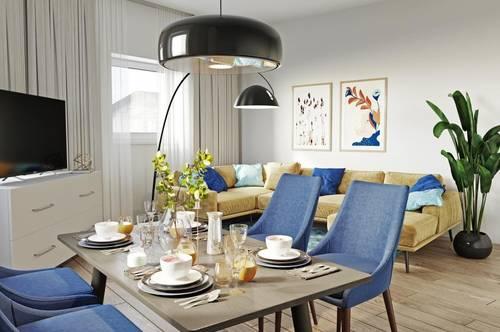 LEBEN AM REINLPARK: Topsanierte Altbauwohnungen mit 60 bis 74 qm (2 oder 3 Zimmer)