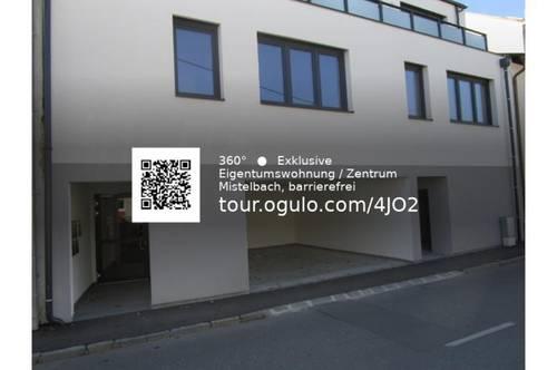 Mistelbach - KAUF: Eigentumswohnung im Zentrum TOP 2, 360° Rundgang vorhanden