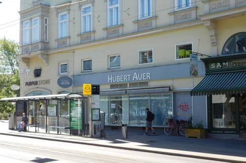 Geschäft bei Kunsthaus in Toplage