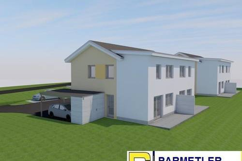 Neubau - Doppelhaushälfte in Riesnähe