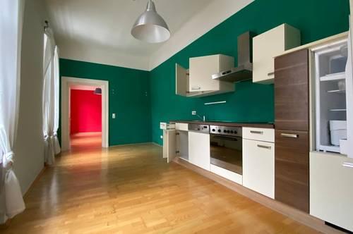 Coole 2 Zimmer-Wohnung beim Kunsthauscafe!