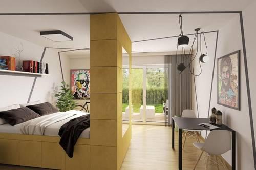 Single Wohnung mit Terrasse und Garten - provisionsfrei